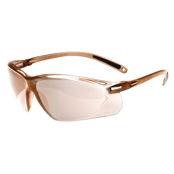 Honeywell A700 Safety Glasses Light Brown Mirror Lens