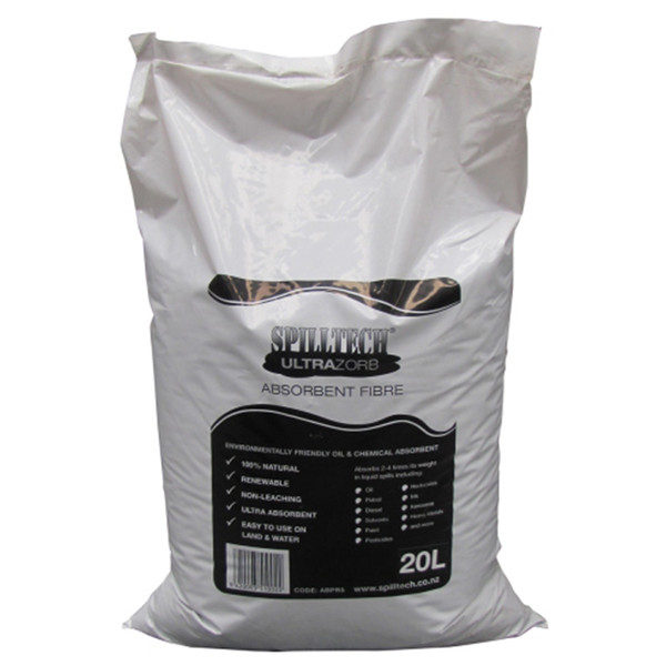SpillTech UltraZorb Oil & Chemical Absorbent 20L