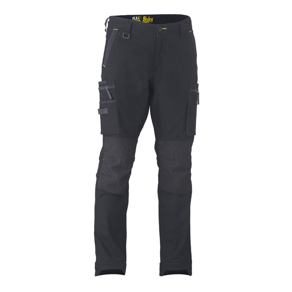 Bisley Flex N Move Stretch Utility Zip Cargo Pant