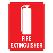 PVC Sign, Fire Extinguisher 240x340mm