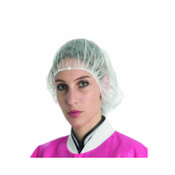 "Safety+ Bouffant Cap 21"" - White (1000)"