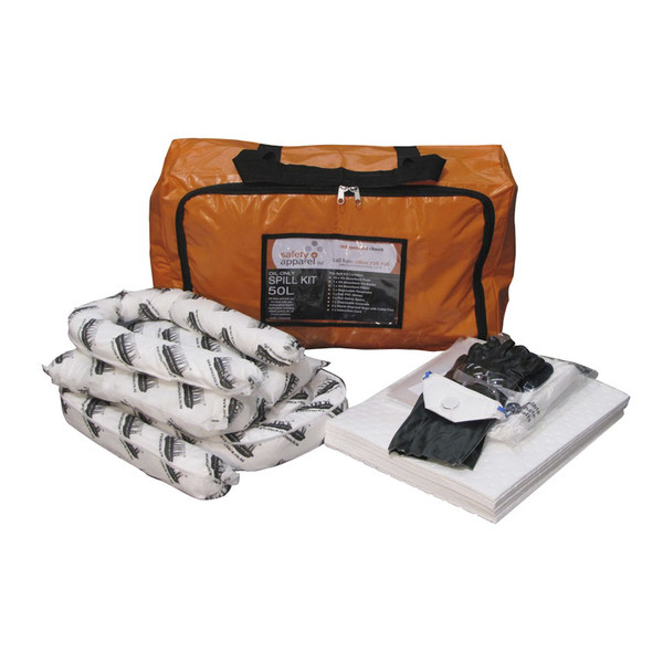 Safety+ Oil & Fuel Spill Kit 50L