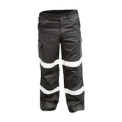 Safety+ Trouser, Fire Retardant, Arc Rated 12.0 cal/cm2, Taped, Navy